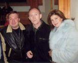 Слава Бобков с Л.Шепиловой и М.Шелегом