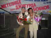 Слава Бобков и Никита Джигурда после концерта в Нижнем Новгороде