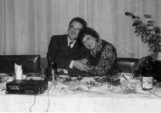 Алла Баянова с сыном Оскара Строка на юбилее К.Т.Сокольского