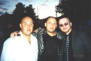 С.Волоколамский,  С.Михайлов,  Н.Орловский,  Питер 2004г
