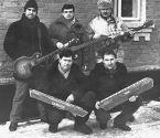 """Украина 1988. г. Калиновка. Свадебная группа """"Атас"""". Влад Зерницкий сидит справа."""