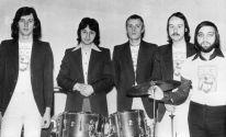 Константин Никольский (слева) в группе Стаса Намина. 1976 год