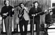 Группа «Сокол». Слева направо: Юрий Ермаков,  Лев Пильщик,  Игорь Дегтярюк,  Виктор Иванов. 1965г.