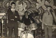 Юрий Соловей за барабанами