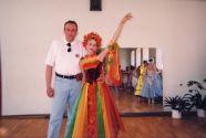 Юрий Соловей и дочь Марина
