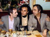 Шарль Азнавур,  Жан Татлян,  Жорж Гарваренц. Париж,  1978