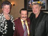 Супруга Ольга,  Вилли Токарев,  Владимир Тимофеев