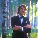 Юрий Охочинский на съемках первого видеоклипа 1988г.
