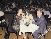 Майя Розова и Евсей в ресторане – варьете «LIDO» в Париже
