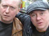 Дмитрий Попов с Андреем Жигаловым в Германии 24 марта 2010г.