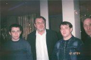 С Владиславом Медяником и Владом Павлецовым