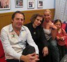 Валерий Разумовский с Любашей и Анастасией Волочковой