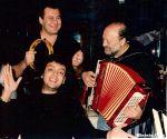 Михаил Гулько с Филиппом Киркоровым и Владиславом Медяником,  Нью-Йорк,  р-н Северный,  начало 90-х годов