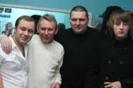 Фото от Руслана Мусина:Виктор Петлюра, Александр Звинцов, Глеб (младший Григорьев)